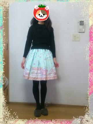 ムスメのスカート