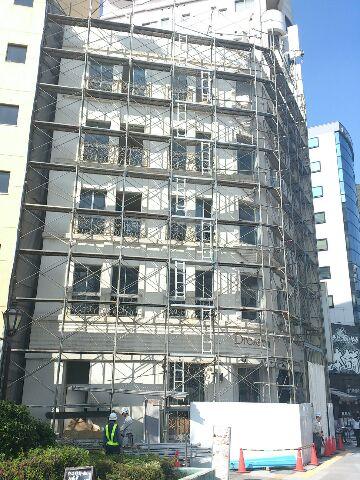 消える建物、遺る建物