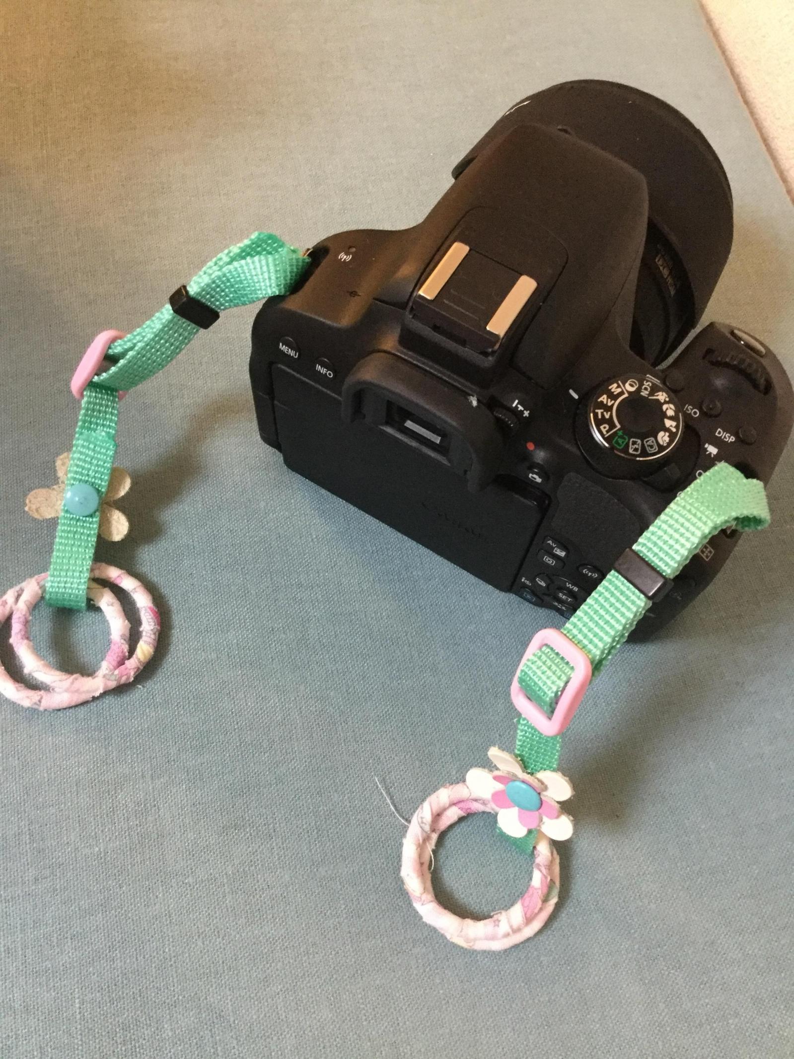 カメラ ストラップ 作り方